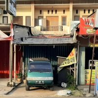 BRI Barito 1A: bid tnh & bngn SHM 6156 Lt. 140 m2, di Jl. Dr. Wahidin, Kel. Sungai Jawi, Kec. Pontianak Kota, Kota Pontianak
