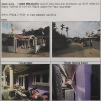 BRI Abepura: 1 bidang tanah luas 100 m2 berikut rumah tinggal sesuai SHM 1452, Kelurahan Asano, Kecamatan Abepura, Kota Jayapura