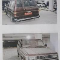 2. BPKP : satu unit kendaraan roda empat Toyota Kijang KF 52 Station tahun 1996