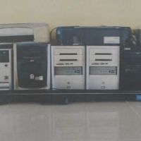 Dikes Mataram : 1 (satu) Paket bidang barang inventaris kantor dalam kondisi rusak berat