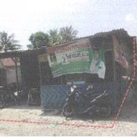 B.MANDIRI 4: Tanah luas 149 M2 & Bangunan SHM No.1077,di Jl Perhubungan,Sudut Gang Tukul/Selamet,Cinta Rakyat, Percut Sei Taun,Deli Serd