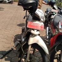 BPKAD Cmh : Honda Supra fit Th 2006 Nopol D 3106 T Warna Putih