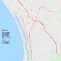 1. Zona Parkir 1 (Pagar Dewa s.d. Padang Harapan), Pemda Kota Bengkulu