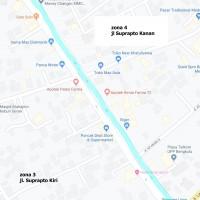 4. Zona Parkir 4 (Suprapto Kanan), Pemda Kota Bengkulu