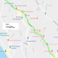 2. Zona Parkir 2 (Simpang Harapan s.d. Simpang Lima) Pemda Kota Bengkulu