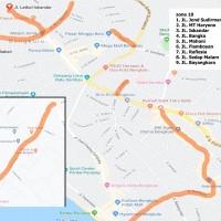 9. Zona Parkir 10 (Pintu Batu, Jalan Bangka, Jalan Mahoni, Jalan Flamboyan)