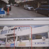 Mandiri 4 - Sebidang tanah luas 57 m² berikut bangunan SHGB no.317/Tb di Jl Ikan Hiu Kompleks Ruko Eks.Chandra Departement Store Telukb