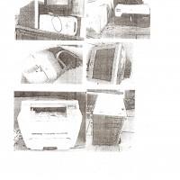 1 (satu) paket barang inventaris berupa peralatan dan mesin kondisi rusak berat