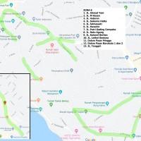 7. Zona Parkir 8 (Jalan A. Yani, Pasar Baru s.d. Anggut Bawah), Pemda Kota Bengkulu