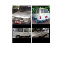 Univ.Indonesia : Toyota Kijang Super KF 40 No.Pol B 1045 UQ Tahun 1992 Kondisi Rusak Berat (apa adanya)