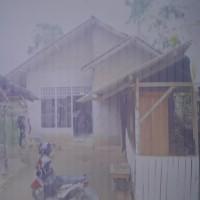 Mandiri 4 - Sebidang tanah luas 412 m² berikut bangunan SHM 02391 di Jalan Raya Kresno Widodo No. 243 Desa Negara Saka, Pesawaran
