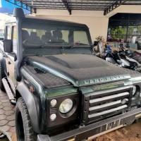 KPPBC TMP B Pontianak: 1 Unit Mobil Land Rover Defender Tahun 2013 warna hitam