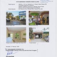 2 (dua) bidang tanah dan bangunan yang dijual 1 paket terdiri SHM No.157 dan SHM No.3845, terletak di Gianyar (Bank Mandiri)