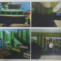 BRI Malang Kawi - Tanah & bangunan SHM No. 1621 luas 163 M2 terletak di Kel. Sumbersari Kec. Lowokwaru Kota Malang