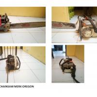Kejari Sukamara Lot 8 : 1 (satu) unit mesin chainsaw merk OREGON