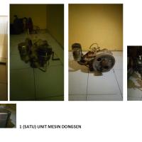 Kejari Sukamara Lot 4 : 1 (satu) unit mesin diesel merk DONGSEN.