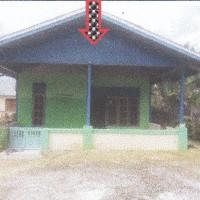 1 bidang tanah luas 2.500 m2 berikut rumah tinggal di Desa Nimbokrang, Kecamatan Nimboran, Kabupaten Jayapura