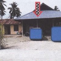1 bidang tanah luas 2.500 m2 berikut rumah tinggal di Kelurahan Nimbokrang, Kecamatan Nimbokrang, Kabupaten Jayapura