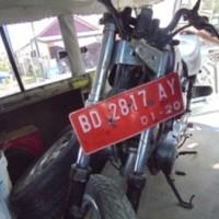 20. 1 (satu) unit motor merk Yamaha RX K Tahun 1999, No. Polisi BD 2817 AY, surat-surat lengkap (Pemda Kota Bengkulu)