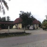 Sebidang tanah dan bangunan seluas 2.843 m2, Sesuai SHM No. 813 terletak Desa Margolembo, Kec. Mangkutana, Kabupaten Luwu Timur