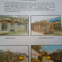 Tanah & Bangunan SHGB No.112, luas 96 m2, di Desa Purworejo, Kecamatan Sanankulon, Kabupaten Blitar.