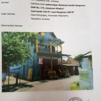 Tanah & Bangunan SHM No.175, luas 155 m2, Ds. Wringinpitu, Kec. Mojowarno, Kab. Jombang