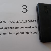 3a. 1 (satu) unit HP merk Nokia 1202 warna hitam (Rampasan Kejaksaan Negeri Muko-Muko)