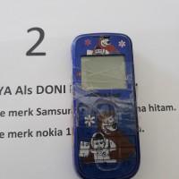 2b. 1 (satu) unit HP merk Nokia 1202 warna biru (Rampasan Kejaksaan Negeri Muko-Muko)
