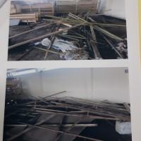 Sta Karantina Pertanian Clp: bangunan bak kolam untuk dibongkar