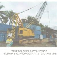 PHI Pontianak: 2 (dua) unit mesin pemotong plat besi (Plasma Cutter) & 2 (dua) unit crane