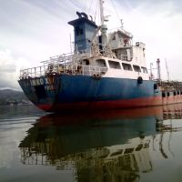kapal motor: Panjang:60.00 meter; Lebar:10.00 meter, Dalam:4,50 meter, Tonase kotor:702; Tonase bersih:265
