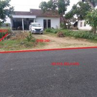 PNM Tulungagung - Sebidang Tanah dan Bangunan SHM No. 243, LT 757 m2, terletak di Desa Gondosuli, Kec. Gondang, Kab. Tulungagung