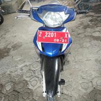 BPS Banjar 1. Kendaraan Roda Dua Merk Honda/Supra X 125 No. Polisi Z 2201 X