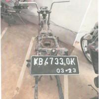 Jasa Raharja 7:  kendaraan roda 2 (dua) merk Honda tipe New Megapro, tahun 2013, nopol: KB 4733 OK