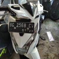 [Kejari Prabumulih]4. Satu Unit  Sepeda Motor merk Honda Beat warna putih dengan plat Nopol BG-2568-CV  (tanpa surat)