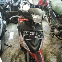 [Kejari Prabumulih]9. Satu Unit sepeda motor Yamaha Mio J warna merah hitam Nopol BG 2916 CC (tanpa surat)