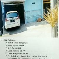 BPR Saudarakita Krwg: T/B SHM No. 00835/Palumbonsari, LT. 60 m2 LB 40 m2, terletak di Kel. Palumbonsari, Kec. Karawang Timur, Kab. Karawang