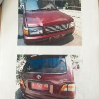 1 (satu) unit kendaraan roda 4 (empat) Toyota Kijang KF80 Long STD, Tahun 1997, No.Pol. B 1620 HQ