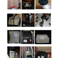 1 (satu) paket barang inventaris kantor, terdiri dari 69 barang dengan kondisi rusak berat.