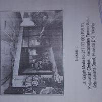 BNI: T/B RUKO di Jl. Gajah Mada No. 217 Rt. 001/01, Kel. Glodok, Kec. Tamansari, Kotamadya Jakarta Barat