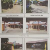 Bank Mega - Sebidang tanah dan bangunan seluas 514 m2 terletak di Desa Soponyono, Kec. Wonosobo, Kabupaten Tanggamus.