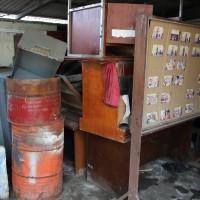Kantor Kesyahbandaran Utama Belawan, satu paket inventaris dalam kondisi rusak berat