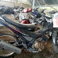 8 Kejari Banyuasin : 1 (satu) unit sepeda motor merk SUZUKI SATRIA FU warna hitam nopol BG 2562 RS (BPKB dan STNK tidak ada)