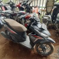 9 Kejari Banyuasin : 1 (satu) unit sepeda motor merk Honda Vario warna hitam dengan nomor Polisi BG 4736 ABK (BPKB dan STNK tidak ada)