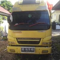 Satu unit mobil merk Mitsubishi Truck, warna kuning No. Polisi BG 8418 HB (Rampasan Kejaksaan Negeri Rejang Lebong)