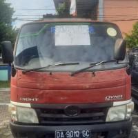 KPP Pratama Bontang: Lot3-1 Unit mobil Truk Tangki Toyota Dyna 130 HT warna merah tahun 2011, nopol DA 9010 GC.