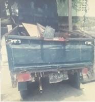 1 unit mobil Daihatsu Pick Up Grand Max warna, hitam, terletak di Kejaksaan Negeri Luwu Timur