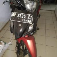 1 unit sepeda motor merk suzuki warna merah kombinasi hitam No.Polisi 2635 CI, di Kejari Enrekang