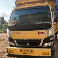 Kejari Katingan: 1 unit Dump Truck Merk Mitsubishi Warna Kuning Nomol KH 8295 NM, tanpa BPKB dan STNK (3a)