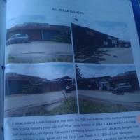 2 bidang tanah dengan total luas 1.190 m2  berikut bangunan di Kota Bandar Lampung